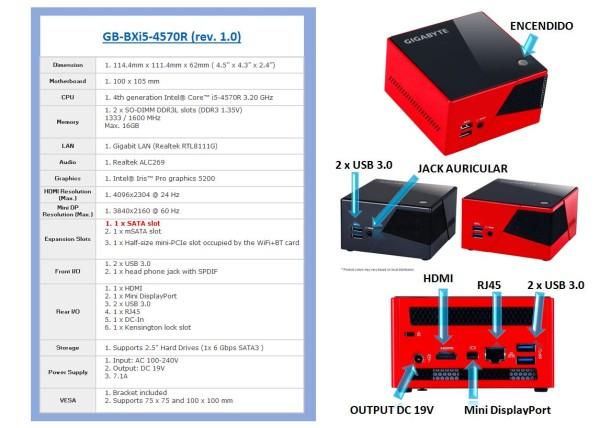 BRIX Pro GB-BXi5-4570R