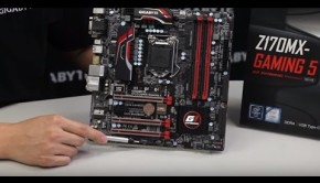 Unboxing de la placa base Z170MX GAMING 5 de GIGABYTE
